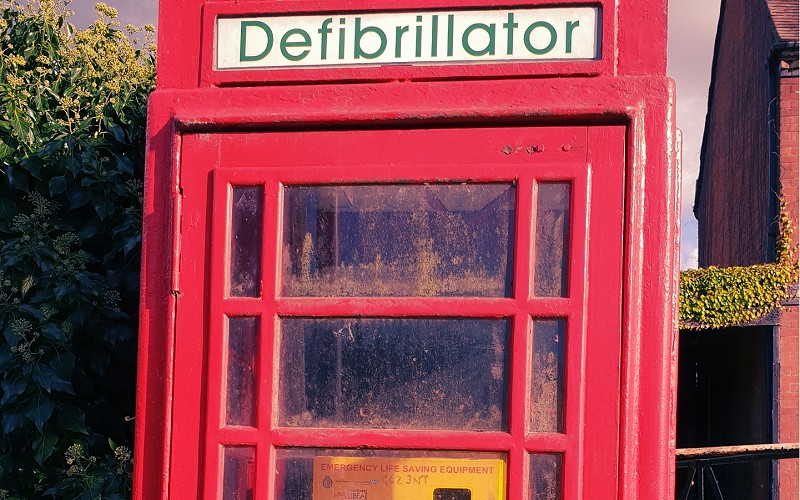 Longney & Epney Village Defibrillators